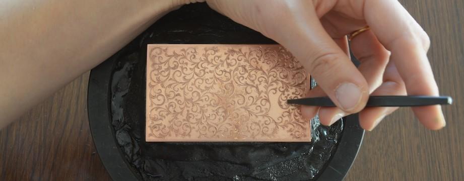 手彫り唐草 のコピー
